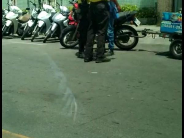 Vídeo mostra que agentes de trânsito da SMT agrediram entregador de gás