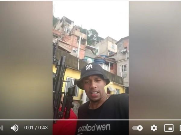 Traficante do Rio de Janeiro fala de Feira de Santana