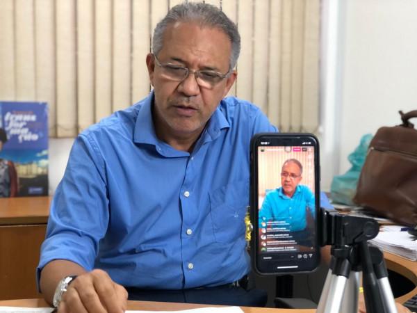 Deputado Carlos Geilson defende retorno das aulas nas redes pública e privada
