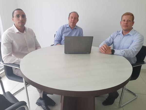 Unicred do Nordeste recebe diretor de co-irmã de São Paulo com objetivo de firmar  parceria