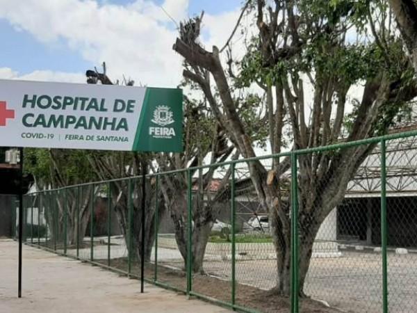 Três entidades disputam licitação milionária para administrar Hospital de Campanha de Feira